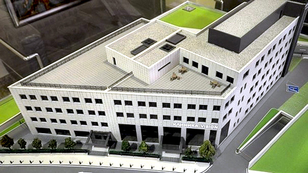 The construction of the complex - HOSPITAL AND CLINIC