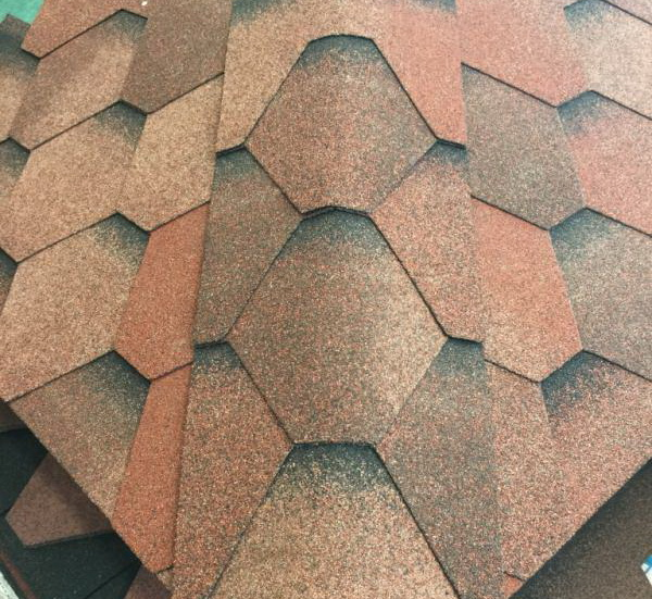 Another look for your hips & ridges with hexagonal shingles