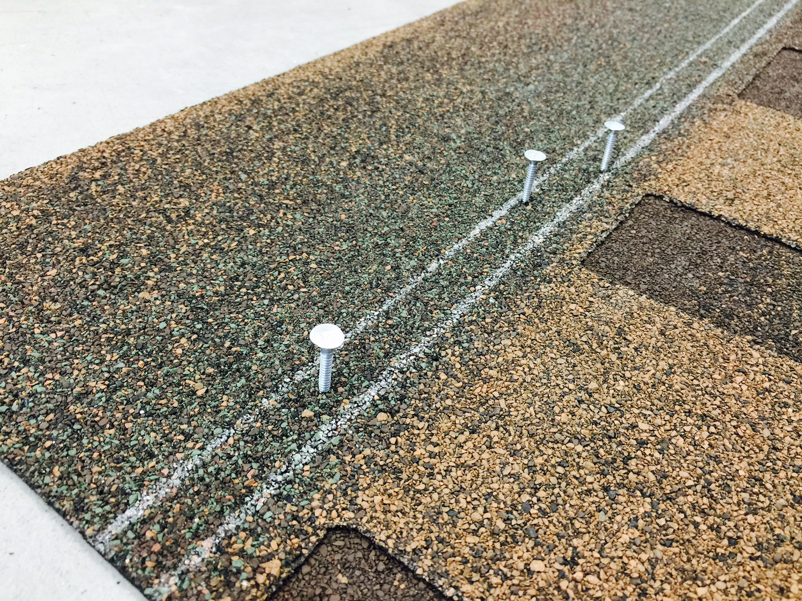 Proper nailing is essential to the performance of roof shingles
