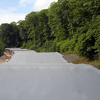 Покрив с полимерни хидроизолационни мембрани 99