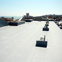 Покрив с полимерни хидроизолационни мембрани 94