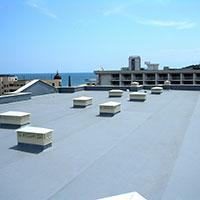 Покрив с полимерни хидроизолационни мембрани 89
