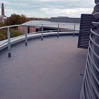 Покрив с полимерни хидроизолационни мембрани 83