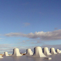 Покрив с полимерни хидроизолационни мембрани 82