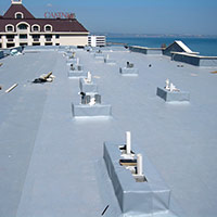 Покрив с полимерни хидроизолационни мембрани 79