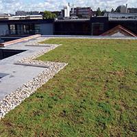 Покрив с полимерни хидроизолационни мембрани 78