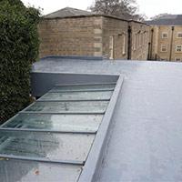 Покрив с полимерни хидроизолационни мембрани 76