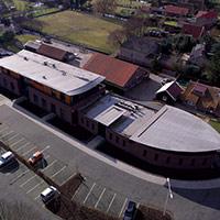 Покрив с полимерни хидроизолационни мембрани 75