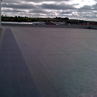 Покрив с полимерни хидроизолационни мембрани 73