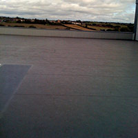Покрив с полимерни хидроизолационни мембрани 71