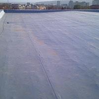 Покрив с полимерни хидроизолационни мембрани 67