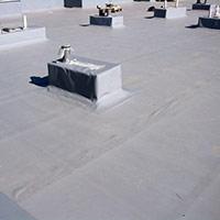 Покрив с полимерни хидроизолационни мембрани 65