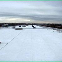 Покрив с полимерни хидроизолационни мембрани 62