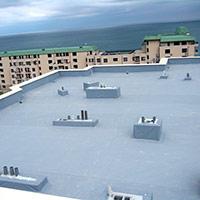 Покрив с полимерни хидроизолационни мембрани 57