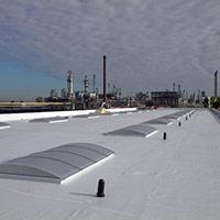 Покрив с полимерни хидроизолационни мембрани 56