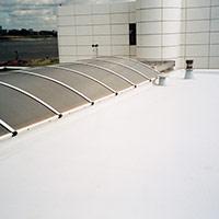 Покрив с полимерни хидроизолационни мембрани 54