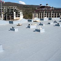 Покрив с полимерни хидроизолационни мембрани 52