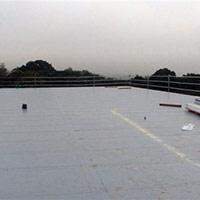 Покрив с полимерни хидроизолационни мембрани 50