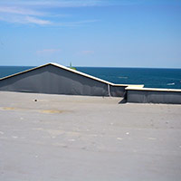 Покрив с полимерни хидроизолационни мембрани 47