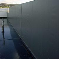 Покрив с полимерни хидроизолационни мембрани 46