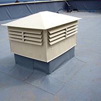 Покрив с полимерни хидроизолационни мембрани 43