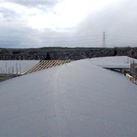 Покрив с полимерни хидроизолационни мембрани 42