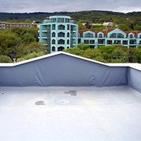 Покрив с полимерни хидроизолационни мембрани 39