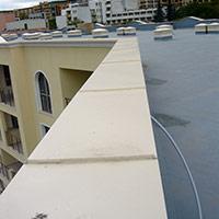 Покрив с полимерни хидроизолационни мембрани 37