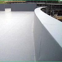 Покрив с полимерни хидроизолационни мембрани 36