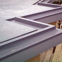 Покрив с полимерни хидроизолационни мембрани 34