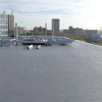 Покрив с полимерни хидроизолационни мембрани 29