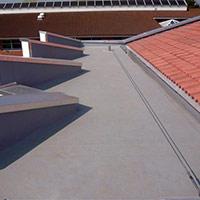 Покрив с полимерни хидроизолационни мембрани 27