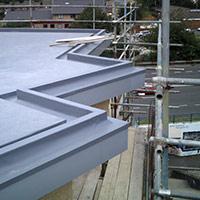 Покрив с полимерни хидроизолационни мембрани 21