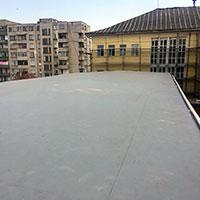 Покрив с полимерни хидроизолационни мембрани 20