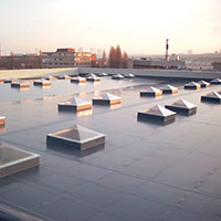 Покрив с полимерни хидроизолационни мембрани 12