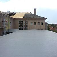 Покрив с полимерни хидроизолационни мембрани 11