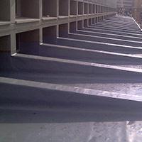 Покрив с полимерни хидроизолационни мембрани 9
