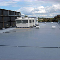 Покрив с полимерни хидроизолационни мембрани 5