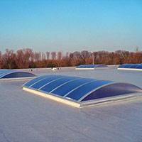 Покрив с полимерни хидроизолационни мембрани 4