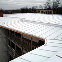 Покрив с полимерни хидроизолационни мембрани 2