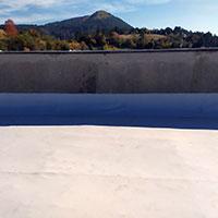 Polymer waterproofing membranes 14