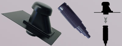 удължение на тръбите за вентилиран Armourvent Sanitary