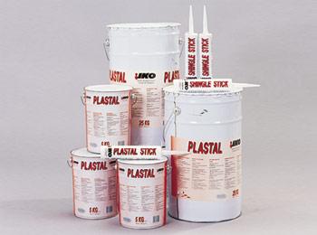 oxidised bitumen based mastics Plastal