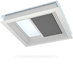 Затъмнителни термо щори VELUX за прозорци за плосък покрив