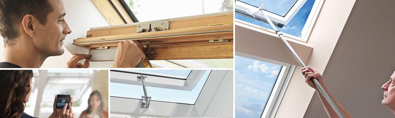 Аксесоари за покривни прозорци