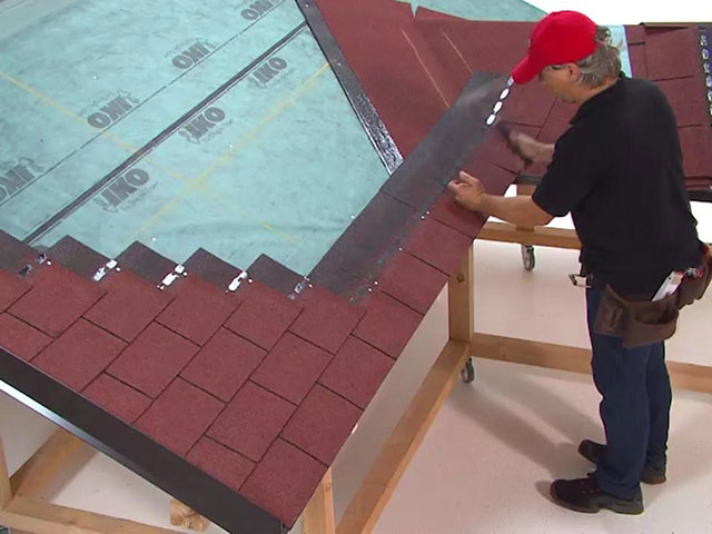 Rectangular shape shingles