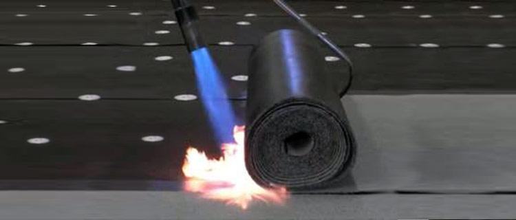 SBS smooth waterproofing membranes