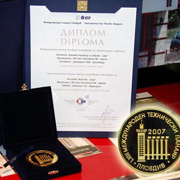 """Битумните керемиди IKO с отличието """"Златен медал"""""""