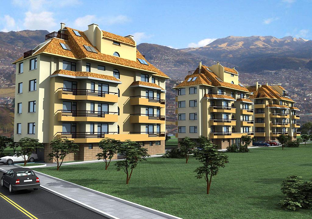 Покриви IKO отново предпочетени в изграждането на луксозен жилищен комплекс в кв. Манастирски ливади, София
