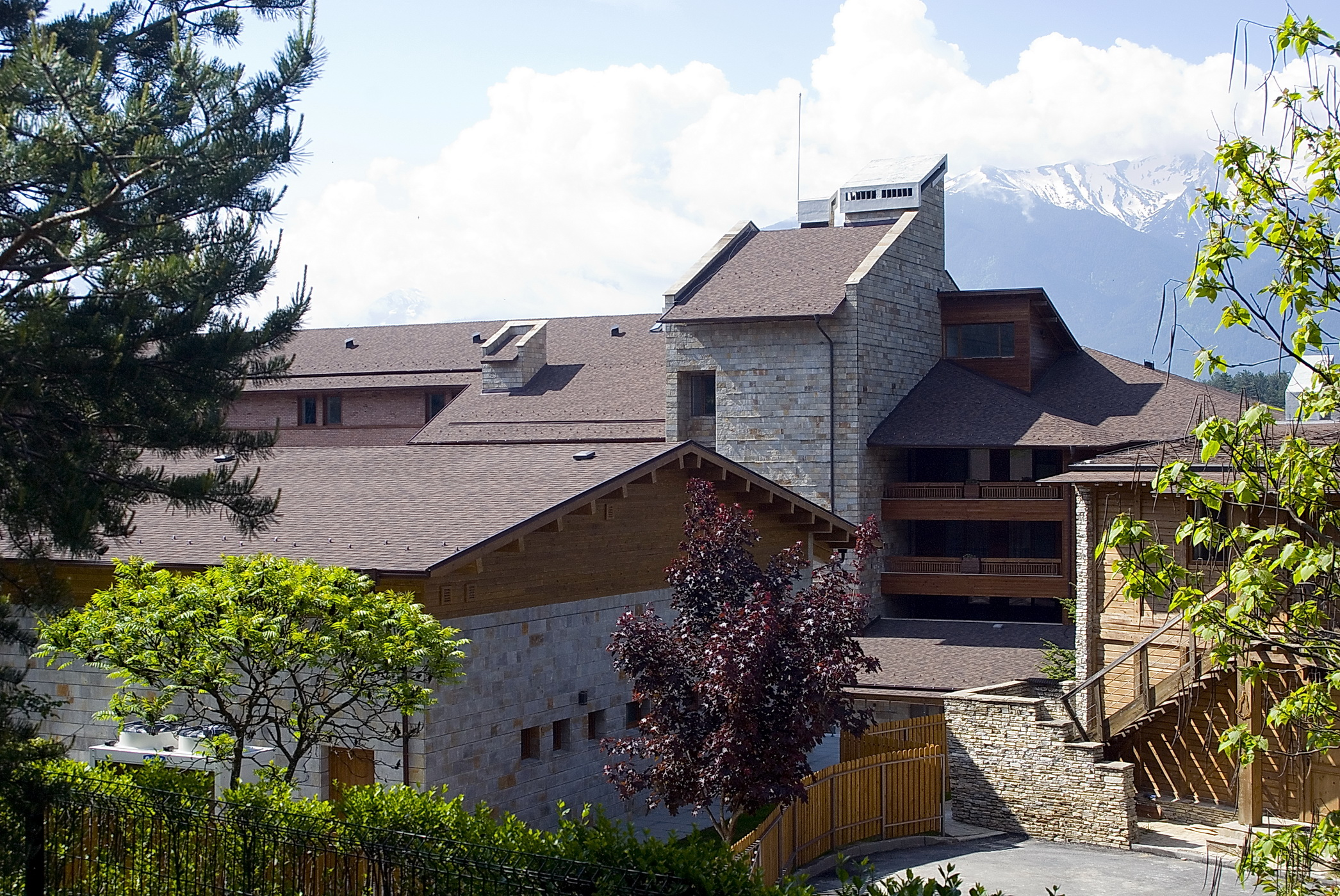 """Armormat started the deliveries of shingles for the reconstruction of Katarino – one of the biggest SPA complexes in the country, honored with the """"Building Of The Year Of Bulgaria"""" award."""